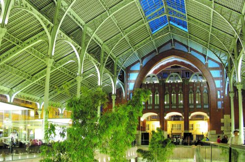 Valencia's Mercado de Colon – A hidden treasure.