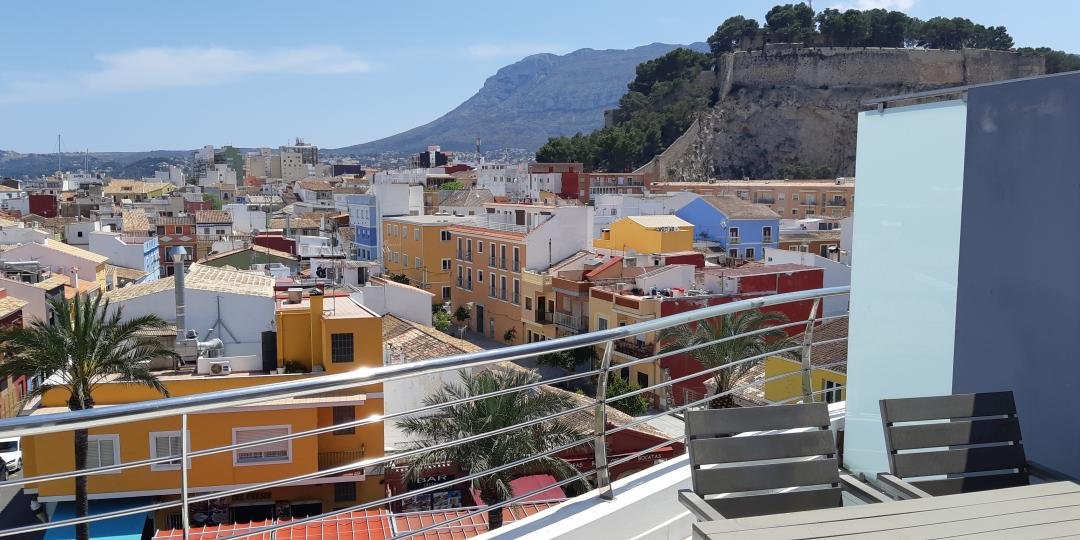 For sale: Luxury duplex apartment in Denia with amazing views