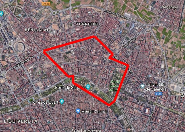 Unknown but interesting neighbourhoods in Valencia – PART4 – LA ZAIDIA